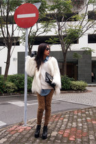 Zara pants - Jeffrey Campbell boots - Zara coat