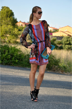 silk single dress dress - tylie malibu bag - camilla scovgaard heels