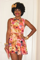 floral print daily look dress
