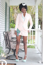 H&M blazer - H&M shorts