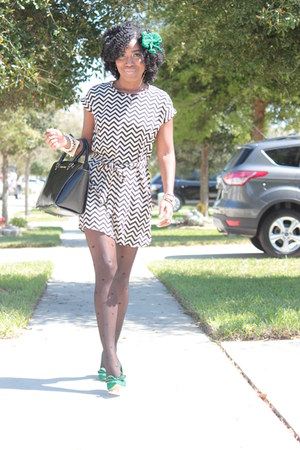 chevron print Macys dress
