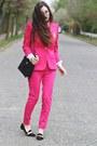 Hot-pink-sheinsidecom-blazer-hot-pink-sheinsidecom-pants