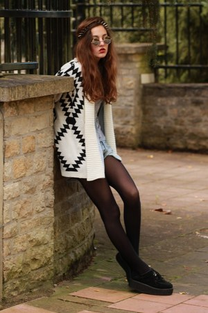 Chicwish cardigan - shoes