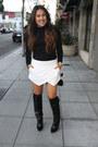 Zara-boots-h-m-shirt-zara-shorts