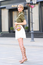 Zara skirt - Dolce & Gabbana bag - Zara sandals
