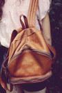 Bubble-gum-floral-headband-diy-hat-tawny-leather-vintage-bag-navy-high-waist