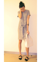nathan smith dress - Melissa  Daniella Zylbersztain purse - Newkid shoes - marke