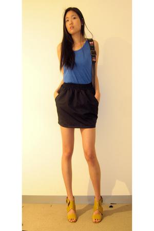 Gorman - American Apparel skirt - Witchery - Gorman purse