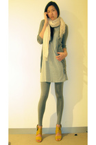 g2000 dress - Sportsgirl - Witchery - Country Road scarf - Witchery shoes