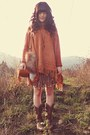 Brown-durango-boots-tawny-chicwish-sweater-light-orange-shop-lately-bag