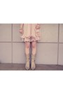 Light-pink-h-m-bracelet-eggshell-durango-boots-light-pink-ianywear-dress