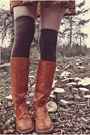 Brown-clothing-lves-dress-tawny-bort-carelton-boots