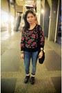 Platform-shoes-topshop-jeans-rose-print-jumper