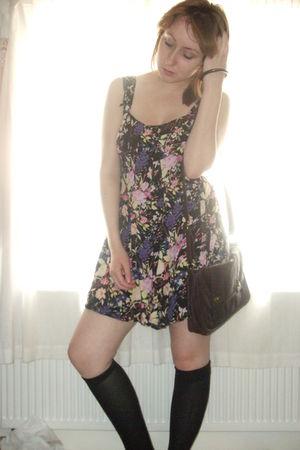 Urban Outfitters - black Primark socks - brown Miss Selfridge accessories