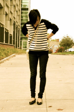 sweater - BDG jeans - shoes