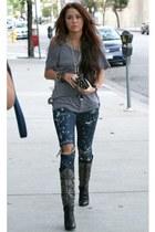 pants - wwwfacebookcom boots - grey top Orion pants top - wwwzaracom accessories
