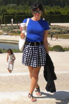 Gap shirt - Forever21 skirt - Farenheit - Starbucks accessories
