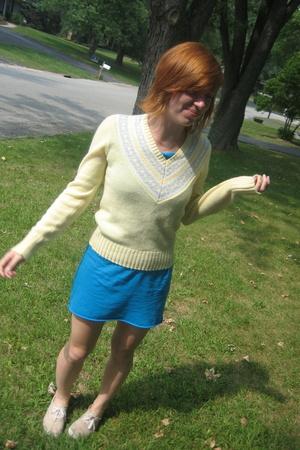 American Apparel dress - Keds shoes