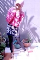 sweater - shirt - leggings - shoes