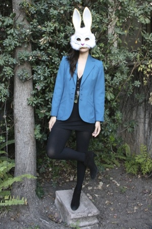fete des morts vintage blazer - American Apparel