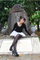 t-shirt - skirt - shoes