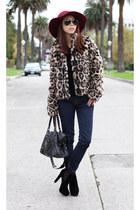 Hommage jacket - J Brand jeans - balenciaga bag