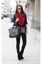 Celine bag - J Brand jeans - Zara jacket