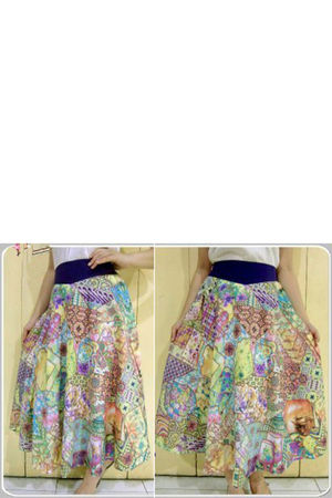 Kampoeng Bali skirt