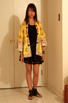vintage jacket - Splendid - forever 21 skirt - hello kitty