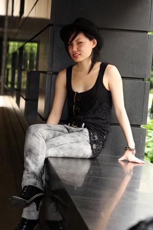 cotton on top - supre top - Mango jeans - gojanecom shoes - Forever21 hat - vint