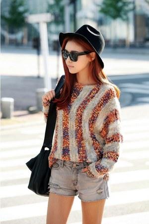 peach Filthy Magic sweater
