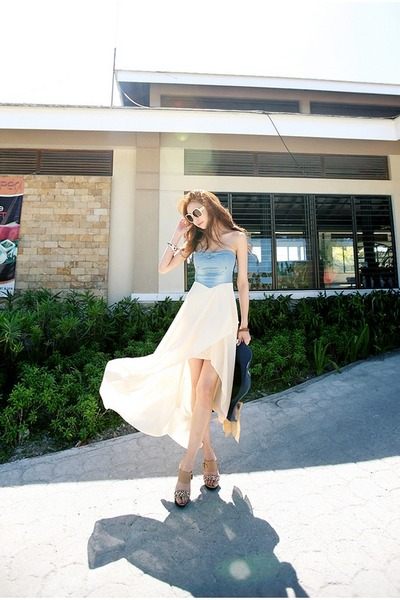 sky blue Filthy Magic dress