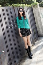 turquoise blue Filthy Magic sweater