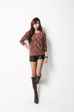 brown Filthy Magic shirt