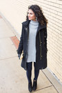 Suede-bcbgeneration-boots-wool-cole-haan-coat-gray-gap-sweater