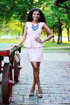 peplum Zara dress