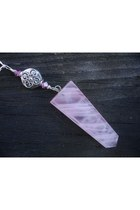 pink Gothic Fire necklace