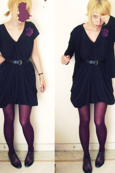 accessories - Melissa shoes - hand-me-down jacket - Zara dress