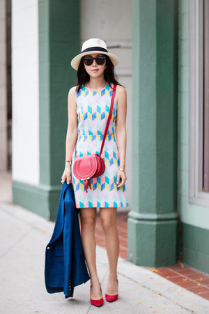 milly dress - Chloe bag