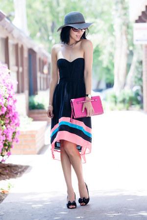 Parker dress - Valentino bag