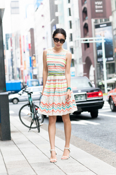 Anthropologie dress - Senso sandals