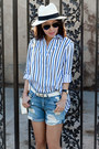 Jcrew-hat-front-row-shop-shirt-rag-bone-shorts