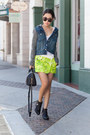 Navy-blazer-jeffery-campbell-boots-black-boots-black-bag-tibi-shorts