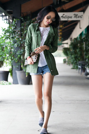 The Man Repeller x PJK jacket - Clare Vivier bag - ray-ban sunglasses