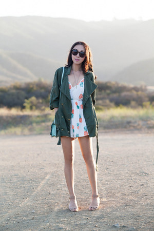 Current Elliott jacket - Reverse romper