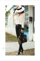 Cut 25 shirt - AG jeans - A WANG heels