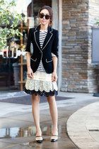 Skaist Taylor skirt - Elizabeth and James blazer - Via Spiga heels
