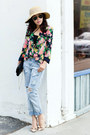 One-teaspoon-jeans-anthropologie-blazer-steve-madden-heels