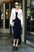 Zara jacket - t by alexander wang dress