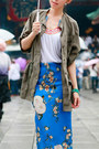 Zara-skirt-trouve-jacket-prada-sunglasses-senso-sandals